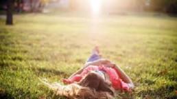 rust en natuur geluk toekomst