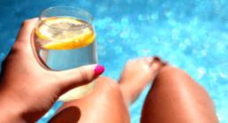 drink jezelf slank water