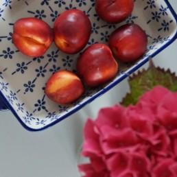 nectarine clafoutiss